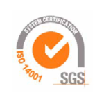 SGS Iso 14001 certification Actys Packaging