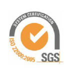 SGS Iso 22000-2005 certification Actys Packaging